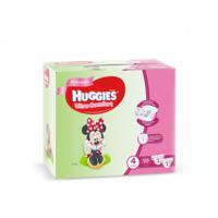 Huggies scutece Ultra Comfort Disney Box pentru fetițe 4, 8-14 kg, 126 buc.