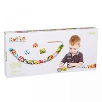 Cubika Деревянная игрушка шнуровка