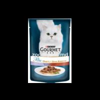 Gourmet Perle Duo cu vițel și rață 85 gr