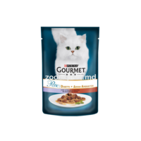 Gourmet Perle Duo с телятиной и уткой 85 gr