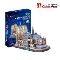 3D PUZZLE Notre Dame de Paris LED
