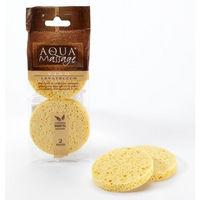 Спонж для умывания Aqua Massage Viso Levatrucco из целлюлозы для снятия макияжа
