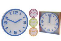 Часы настенные круглые D30cm одноцветн