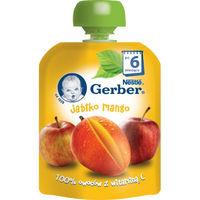 Gerber пюре яблоко и манго 6+ мес., 90 г