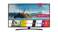 TV LED LG 49UJ635V, Black