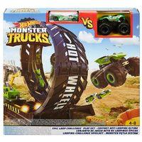 Mattel Hot Wheels Monster Trucks Set Epic Loop Challenge