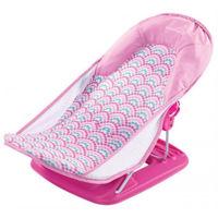 Шезлонг для купания Summer Infant Deluxe Pink Stripes