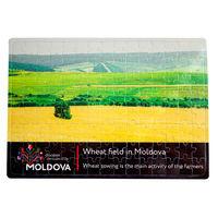 купить Пазлы A4 – Пшеничное поле в Молдове в Кишинёве