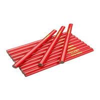 cumpără Creion constructii 12 х7,4 х 176mm TOLSEN în Chișinău