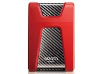 "2.0TB (USB3.1) 2.5"" ADATA HD650 Anti-Shock External Hard Drive, Red (AHD650-2TU31-CRD)"