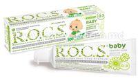 """R.O.C.S. Зубная паста для малышей  """"Душистая Ромашка"""" (0-3) 471590"""