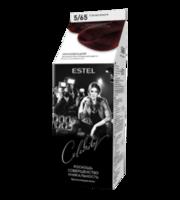 Vopsea p/u par, ESTEL Celebrity, 125 ml., 5/65  - Vișină coaptă