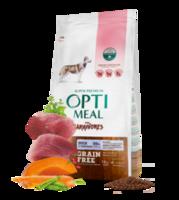 Optimeal для собак беззерновой корм для взрослых собак всех пород - УТКА и овощи 20Kg