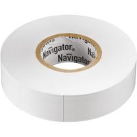 """Изолента белая """"Navigator"""" серии NIT"""