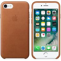 Apple Original Leather Case Iphone 7 , Saddle Brown