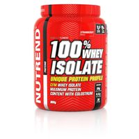 100% WHEY ISOLATE, 900 g strawberry