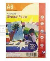 A6 230g 50p Glossy Inkjet Photo Paper