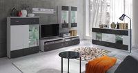 Набор мебели для гостиной Wenecja 1 (белый мат / графит мат)