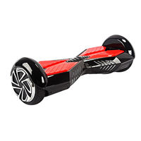 Электротранспорт Roadlink Hoverboard 6'' Classic Black/Red with Handler