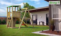 Деревянная детская площадка FUNNY 4