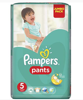 Pampers chiloței Junior 5, 12-18 kg, 48buc.