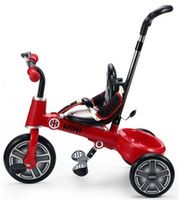 Rastar Mini Cooper Fold Tricycle Bike 10 Red