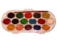 Краски акварельные 16цветов