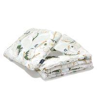 Набор подушка+одеяло из хлопка La Millou –  Heron In a Cream Lotus