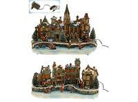 купить Сувенир рождественский музыкальный Замок большой в Кишинёве