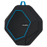 Bluetooth Portable Speaker SVEN PS-77BL 5W, Black/Blue