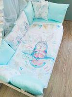 Комплект постельного белья в кроватку Pampy rabbit fly
