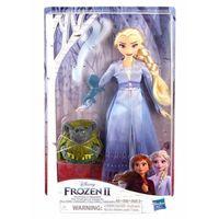 Hasbro Кукла Frozen 2 Эльза тролль Пабби и саламандра
