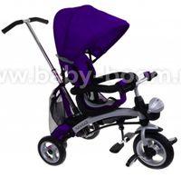 Baby Mix Трицикл Clever KR-X3 3в1 фиолетовый
