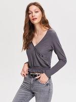 Блуза RESERVED Серый vr223-90x
