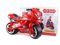 OP МЛ6.04 Мотоцикл красный