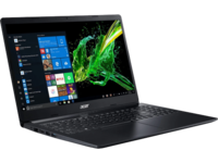 "ACER Aspire A315-23 Charcoal Black (NX.HVTEU.010) 15.6"" FHD (AMD Ryzen 5 3500U 4xCore 2.1-3.7GHz, 8GB (2x4) DDR4 RAM, 512GB PCIe NVMe SSD, Radeon Vega 8 Graphics, w/o DVD, WiFi-AC/BT, 2cell, 0.3MP webcam, RUS, Linux, 1.9kg)"