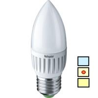 (LL) LED (5W) NLL-P-C37-5-230-4K-E27-FR (Standard)
