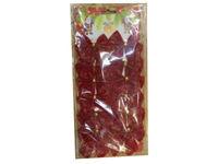 купить Набор бантиков 12шт, 5cm красных в Кишинёве