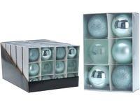 купить Набор шаров 6X80mm, бирюзовые, в коробке в Кишинёве