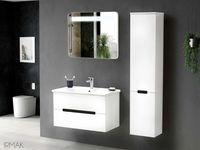 Шкаф с зеркалом Irmak 100cm (white)