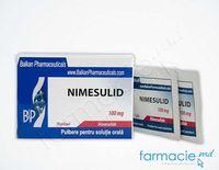 Nimesulid  pulb./sol. orala 100 mg 2,5 g N10(Balkan)