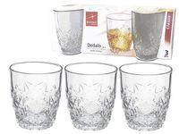 купить Набор стаканов для виски Dedalo 3шт, 260ml в Кишинёве