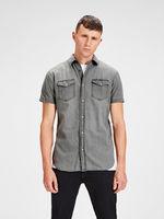 Рубашка JACK&JONES Серый 12134562 jack jones.