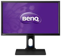 """23.8"""" BenQ """"BL2420PT"""", Black (IPS, 2560x1440, 5ms, 300cd, LED20M:1(1000:1), DVI + HDMI+ DP, Pivot) (23.8"""" Pro-Line IPS-AHVA W-LED, 2560x1440 WQHD, 0.205mm, 5ms GtG, 300 cd/m², DCR 20 Mln:1 (1000:1), 100% RGB, 16.7Mln Colors (True 8bit), 178°/178° @C/R>10, D-Sub + DVI-DL + HDMI1.4 + DP1.2, Audio-In, Headphone-Out, Built-in speakers, USB 2.0 x2-Hub, Built-in PSU, HAS 140mm, Tilt: -5°/+20°, Swivel +/-45°, Pivot, VESA Mount 100x100, Eco Sensor, Auto Pivot, Low Blue Light, Flicker-free Technology, Display Pilot Software, CAD/CAM Mode and Animation Mode for Precision Design, Black)"""
