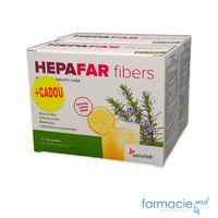 Hepafar Fibre (sanatatea ficatului) plic N15 + 1 Gratis