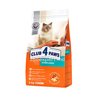 CLUB 4 PAWS Sterilised 1kg ( la cîntar )