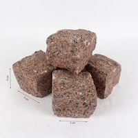 Кубическая Брусчатка Гранит Клен Красный  5 x 5 x 5см