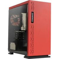 Case GAMEMAX EXPEDITION RD Red, Case mATX