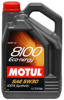 Масло моторное Motul 5W30 8100 ECO-NERGY 5L