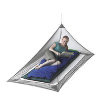 Москитная палатка Sea To Summit Nano Mosquito Pyramid Net Single, ANMOSS